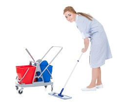 commercial cleaning services in canary wharf